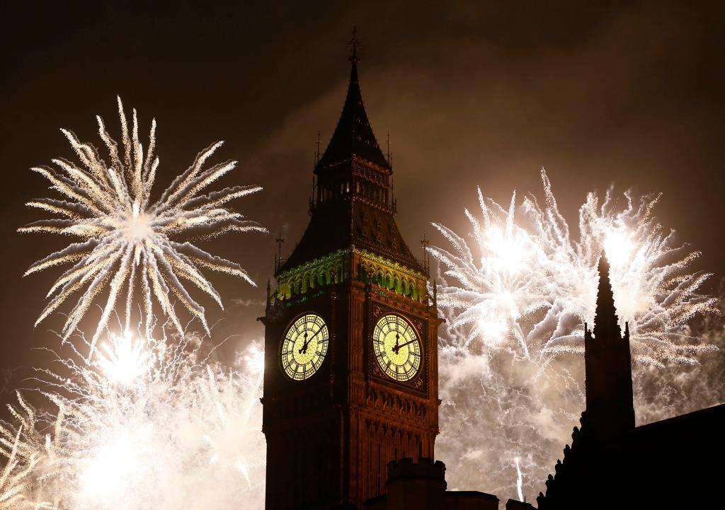 Britain New Year's Celebrations   LKW104